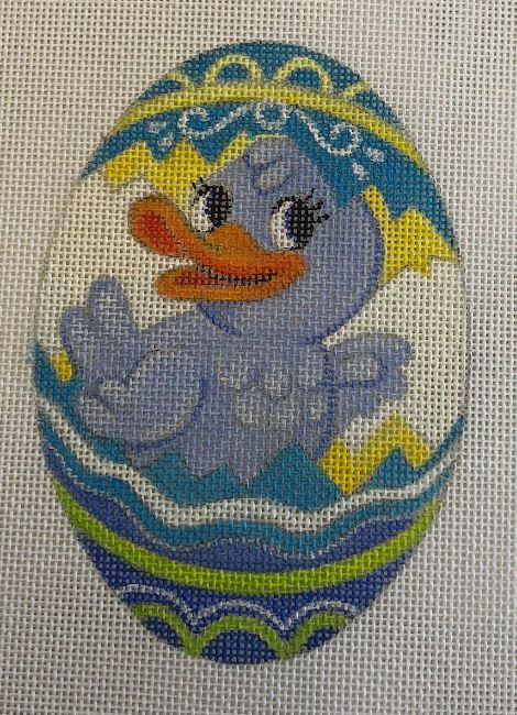 click here to view larger image of Duckling - Blue (hand painted canvases)