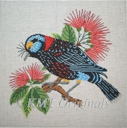 click here to view larger image of Kohekohe Hawaiian bird (hand painted canvases)