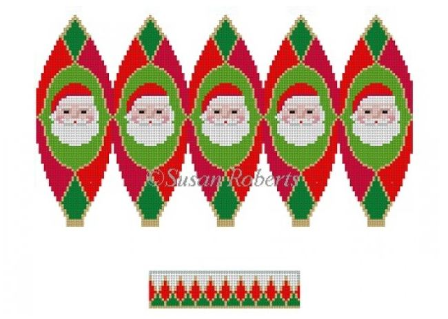 click here to view larger image of Santa Face Hot Air Balloon (hand painted canvases)