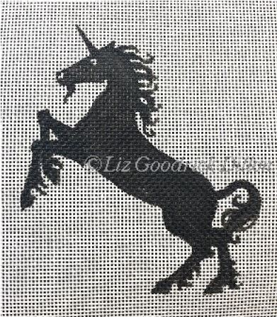 click here to view larger image of Unicorn Silhouette (hand painted canvases)