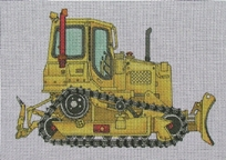 click here to view larger image of Large Dirt Loader (hand painted canvases)