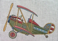 click here to view larger image of Kid Biplane (hand painted canvases)