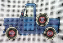 click here to view larger image of Pickup Truck (hand painted canvases)