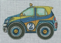 click here to view larger image of Rally Car (hand painted canvases)