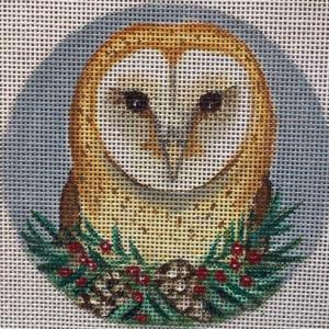 click here to view larger image of Barn Owl	 (hand painted canvases)