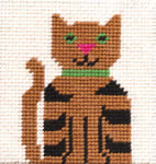 click here to view larger image of Cat (needlepoint kits)
