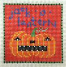 click here to view larger image of Jack O Lantern (hand painted canvases)
