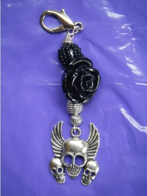 click here to view larger image of Scissor Fob - Biker (accessories)