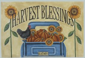 click here to view larger image of  Harvest Blessings (hand painted canvases)