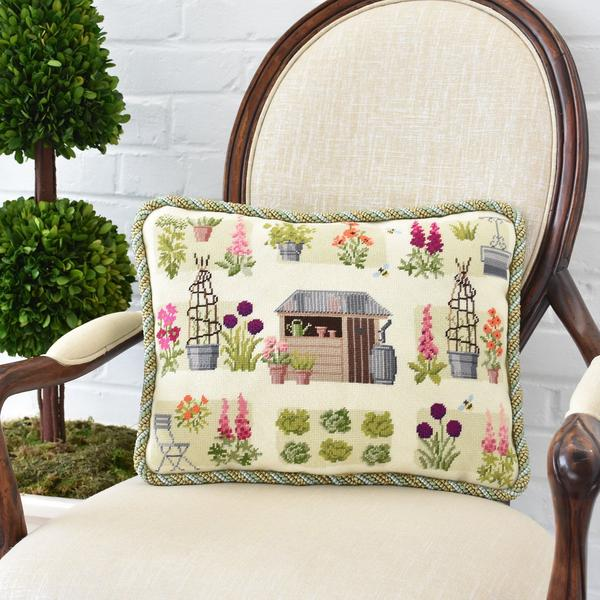 click here to view larger image of Chelsea Cutting Garden, The (needlepoint kits)