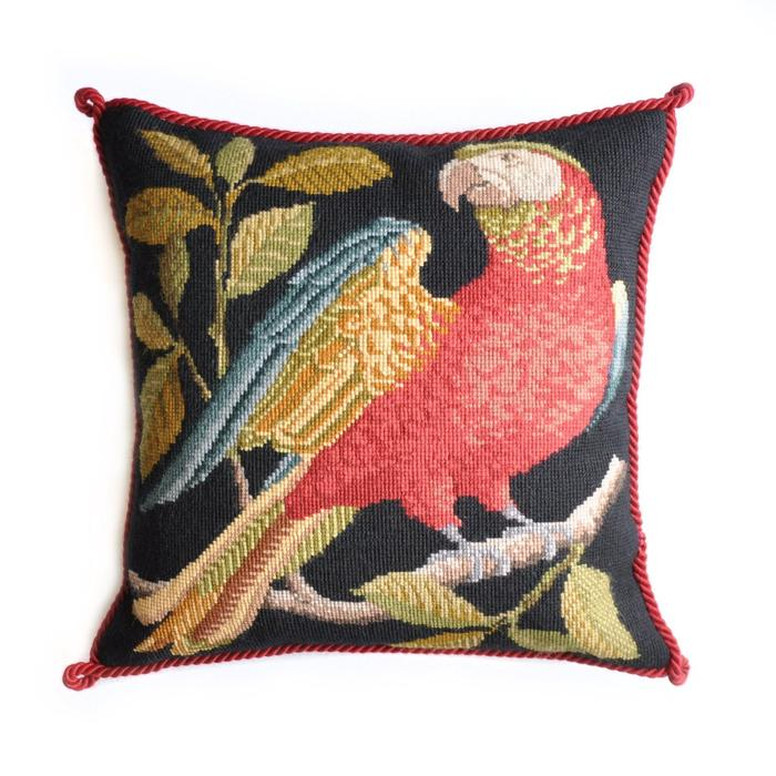 click here to view larger image of Alister the Parrot (needlepoint kits)