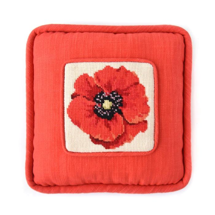 click here to view larger image of Chelsea Poppy Mini Kit (needlepoint kits)
