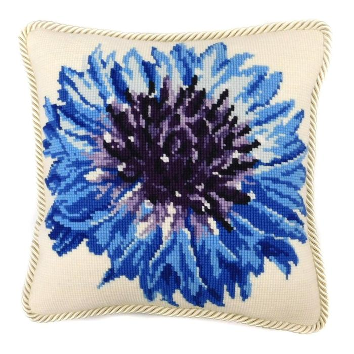 click here to view larger image of Cornflower (needlepoint kits)