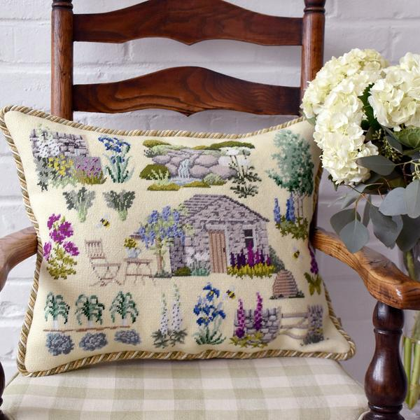 click here to view larger image of Chelsea Yorkshire Garden (needlepoint kits)