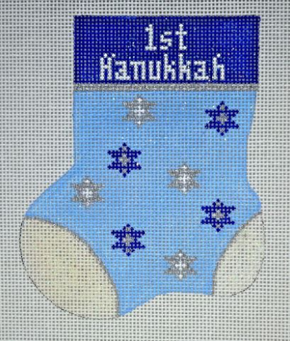 click here to view larger image of 1st Hanukkah (hand painted canvases)