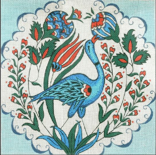 click here to view larger image of Intricate Talavera (hand painted canvases)