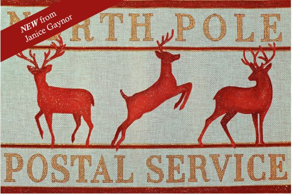 click here to view larger image of North Pole (hand painted canvases)