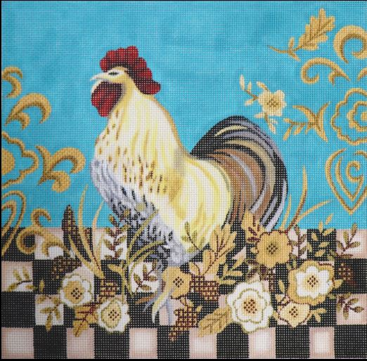 Checkerboard Rooster - click here for more details