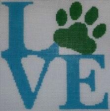 Love Paw - Blue - click here for more details