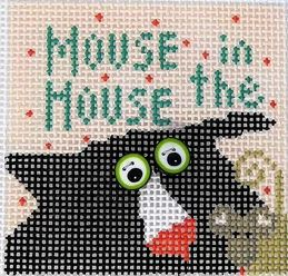 click here to view larger image of Mouse in the House (hand painted canvases)