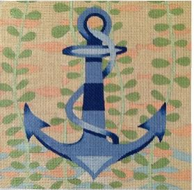click here to view larger image of Anchor (hand painted canvases)