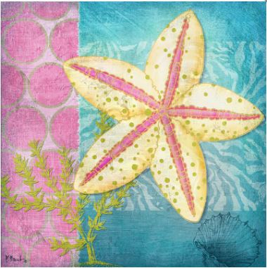 click here to view larger image of Fantasy Reef I  (hand painted canvases)
