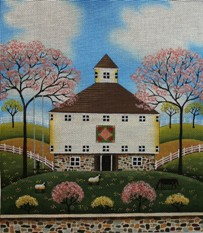 click here to view larger image of Peaceful Pasture (hand painted canvases)