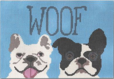 click here to view larger image of Woof (hand painted canvases)