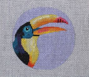 click here to view larger image of Toucan - Insert (hand painted canvases)