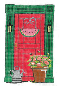 click here to view larger image of August Door (hand painted canvases)