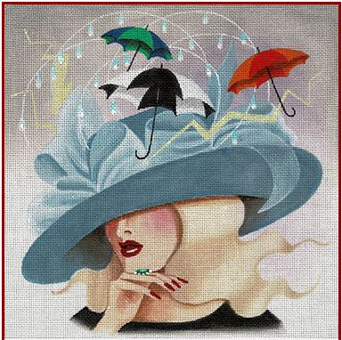 click here to view larger image of Rainy Day Woman (hand painted canvases)
