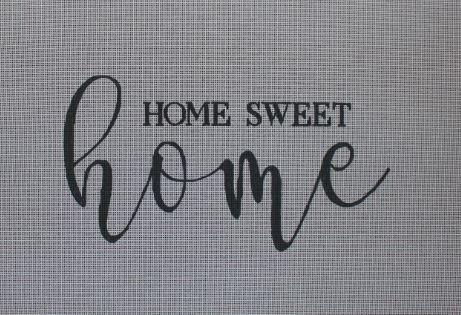 click here to view larger image of Home Sweet Home (hand painted canvases)