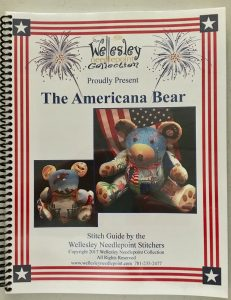 click here to view larger image of Americana Bear - Stitch Guide (books)