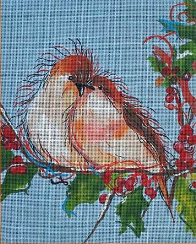 click here to view larger image of Love Birds (hand painted canvases)