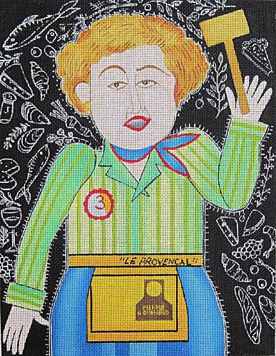 click here to view larger image of Julia Child (hand painted canvases)