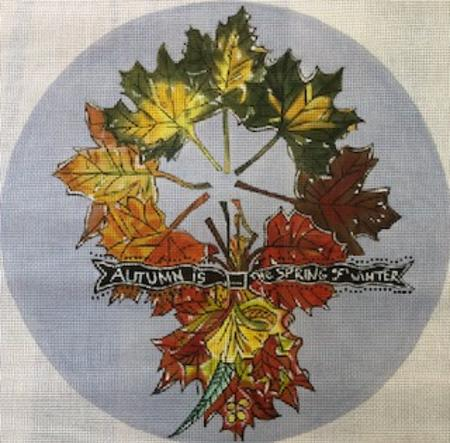 click here to view larger image of Autumn is Spring (hand painted canvases)