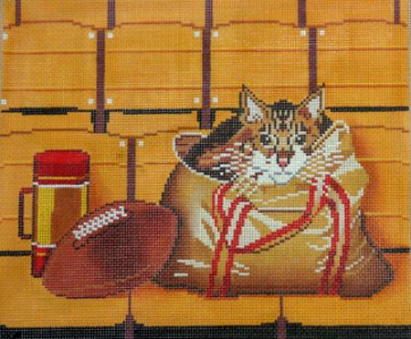 click here to view larger image of Rocky at Candlestick Park (hand painted canvases)