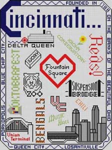 click here to view larger image of Citi Sampler (hand painted canvases)