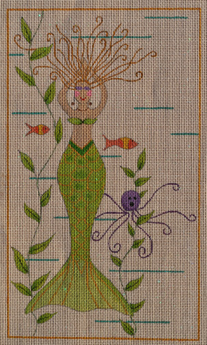 click here to view larger image of Sea of Love Mermaid (hand painted canvases)