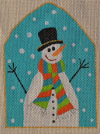click here to view larger image of Let It Snowman (hand painted canvases)