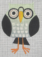 click here to view larger image of Wize Owl (hand painted canvases)