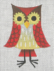 click here to view larger image of Tall Owl (hand painted canvases)