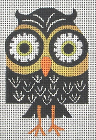 click here to view larger image of Night Owl (hand painted canvases)