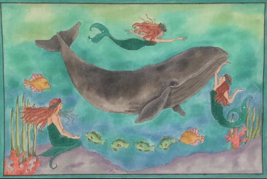 click here to view larger image of The Mermaids Song (hand painted canvases)