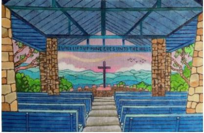 click here to view larger image of Pretty Place Chapel (hand painted canvases)