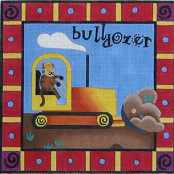 click here to view larger image of Bulldozer (hand painted canvases)