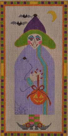 click here to view larger image of Helen Rose�s Witch - Small (hand painted canvases)