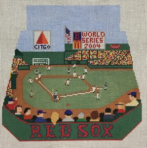 click here to view larger image of Fenway Park Bermuda Bag (hand painted canvases)