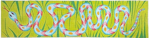 Snake in the Grass - click here for more details about this hand painted canvases