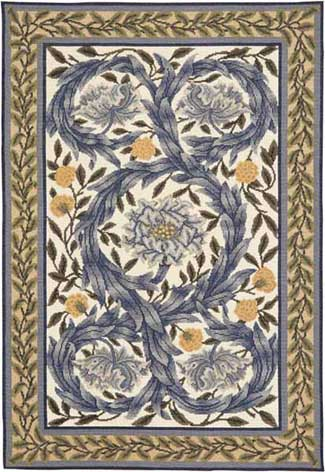 click here to view larger image of African Marigold Rug (needlepoint kits)